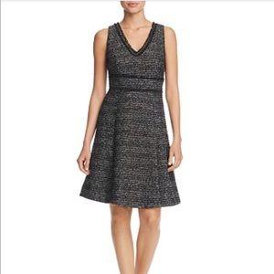 Nanette Lepore Metallic Boucle Dress